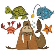 Sizzix Thinlits Die Set 23PK - Under the Sea #2, Colorize by Tim Holtz