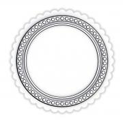 Sizzix Switchlits Embossing Folder - Seal by Tim Holtz