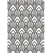 Sizzix Multi-Level Texture Fades Embossing Folder - Arched by Tim Holtz