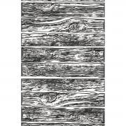 3-D Texture Fades Embossing Folder Mini Lumber by Tim Holtz