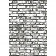 3-D Texture Fades Embossing Folder Mini Brickwork by Tim Holtz