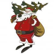 Sizzix Thinlits Die Set 18PK - Woodland Santa, Colorize by Tim Holtz