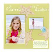 Summer Vacation Scrapbook Page