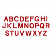 "Sizzix Bigz Alphabet Set 26 Dies - Block 3 1/2"" Capital Letters"