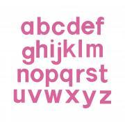 """Sizzix Bigz Alphabet Set 23 Dies - Block 3 1/2"""" Lowercase Letters"""