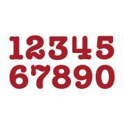"Sizzix Bigz Alphabet Set 9 Dies - AllStar 3 1/2"" Numbers"