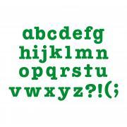 """Sizzix Bigz Alphabet Set 7 Dies - AllStar 1 1/2"""" Lowercase Letters & Punctuation"""