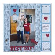 Best Day Scrapbook Page