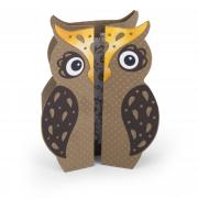 Spotted Owl Fold-a-Long Card
