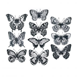 Flutter by Tim Holtz - Cling Mount Stamps - Stampers Anonymous
