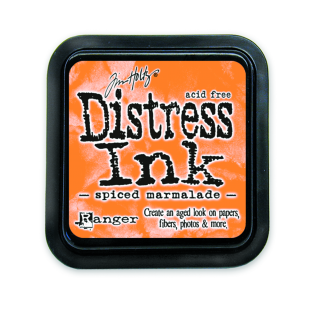 Ranger Spiced Marmalade Distress Pad - Tim Holtz