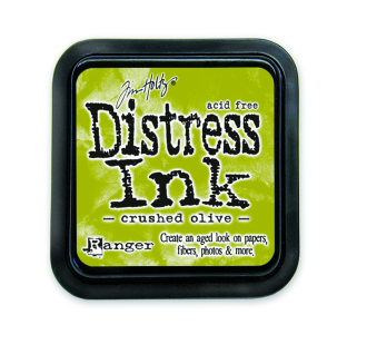 Ranger Crushed Olive Distress Pad - Tim Holtz