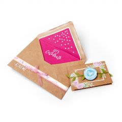 Wedding Floral Gift Card Envelope