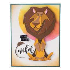 Harrison the Lion Card