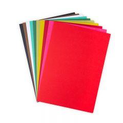Sizzix Surfacez - 10 Festive Colored Cardstock 60PK