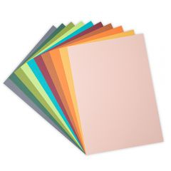 Sizzix Surfacez - Cardstock, 10 Eclectic Colors, 60 Sheets