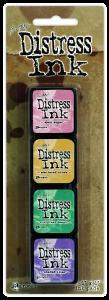 Ranger Mini Distress Pad Kit #4 - Tim Holtz