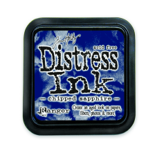 Ranger Chipped Sapphire Distress Pad - Tim Holtz