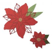 AccuCut Poinsettia Die Cuts