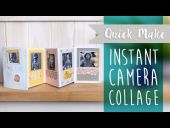 Sizzix Instant Camera Impresslits Embossing Folder 663631 NEW