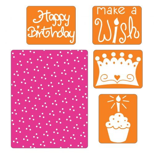 Sizzix Texture Impressions 2 embossing