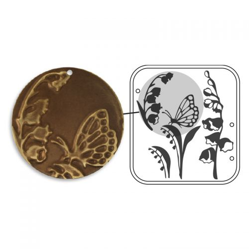Sizzix DecoEmboss Die Cut Floral Decor
