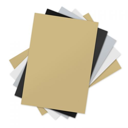 Sizzix 660542 5 Assorted Inksheets Transfer Film Sheets 4 by 6