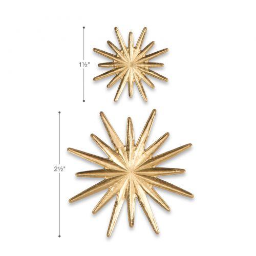 Sizzix Impresslits 3-D Radiant 2pc set #663298 Retail $11.99 design Tim Holtz