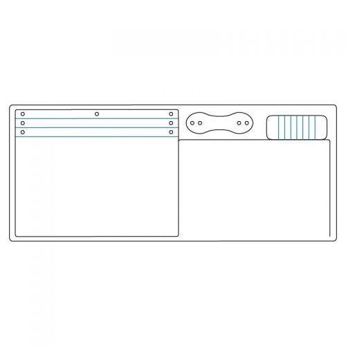 Sizzix Pocket Notebook ScoreBoards XL Die by Eileen Hull Chapter 4 2019 663638