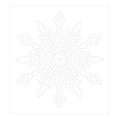 Sizzix Bigz Die By Kath Breen Snow Crystal 630454263319