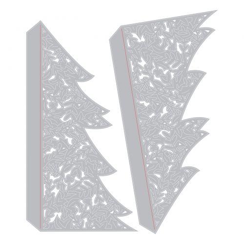 Sizzix Christmas Dies 2021 Sizzix Thinlits Die Set 2pk Christmas Tree Card