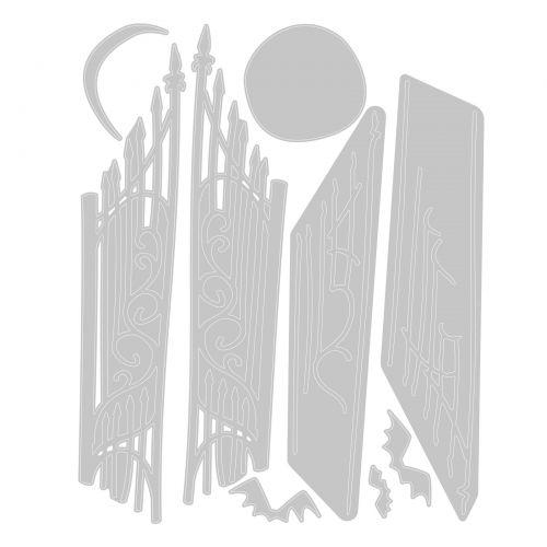 Sizzix Thinlits Gate Keeper 9PK set #664734 Retail $16.99 by Tim Holtz