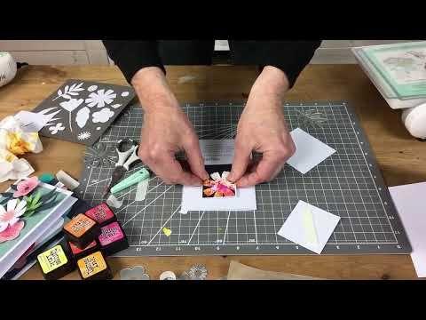 9PK par Sophie Guilar thinlit C.... Sizzix Free Style Florals Thinlits Die Set