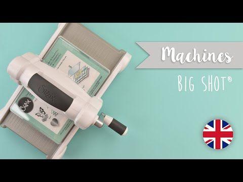 """Sizzix Big Shot Manuel de découpe et gaufrage machine 660200 15.24 cm 6/"""" X X"""