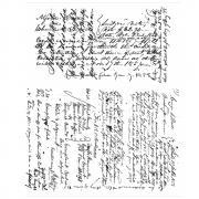 Ledger Script by Tim Holtz