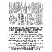 Newsprint and Type by Tim Holtz