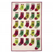 Advent Calendar Stockings Wall Hanging