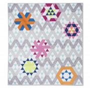 Varied Triangle Quilt