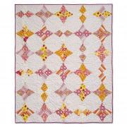 Pink Lemonade Wacky Web Quilt