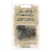 Idea-ology Adornments Snowflakes - Tim Holtz