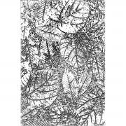 3-D Texture Fades Embossing Folder Foliage by Tim Holtz
