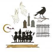 Sizzix Thinlits Die Set 11PK - Vault Series: Halloween 2021 by Tim Holtz