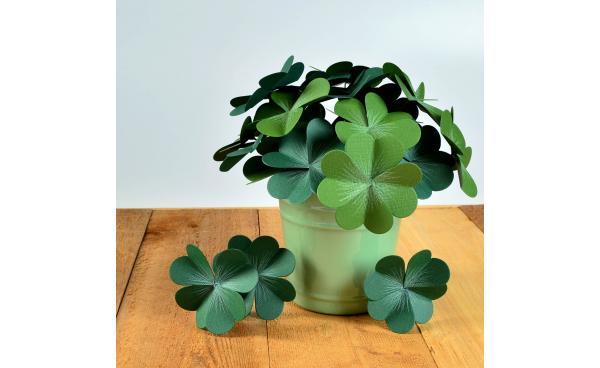 A St. Patrick's Day Pot O' Clovers