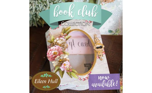 Available Now On Sizzix.com: Book Club By Eileen Hull