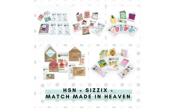 Don't Miss Seeing Sizzix on HSN!