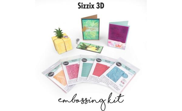 Sizzix 3D Embossing Kit featured on HSN