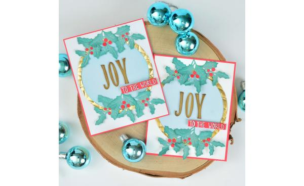 How To Make This Joyful Greeting Card