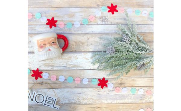 Make a 20-Minute Christmas Garland!