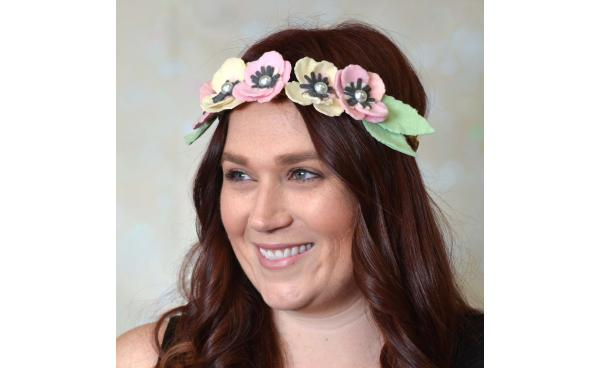 Make This Floral Headband Perfect for Concerts!