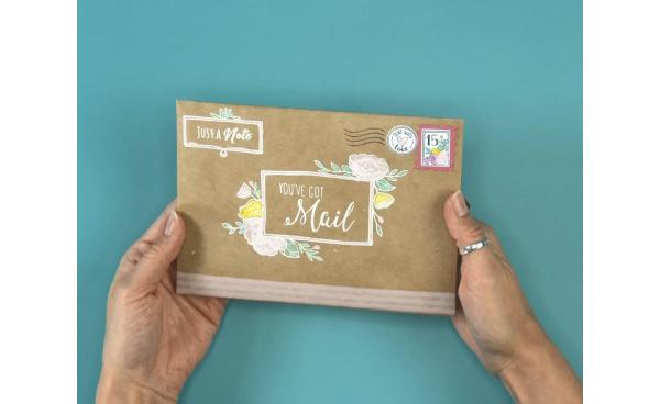 Create DIY Happy Mail With Envelope Liners!